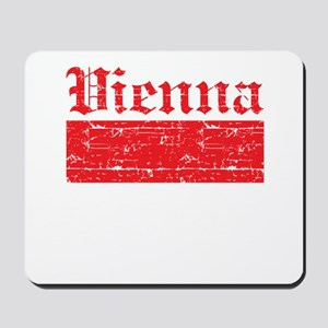 Flag Of Vienna Design Mousepad