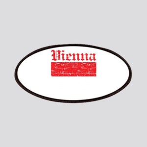 Flag Of Vienna Design Patches