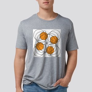 4 hoops 8? Mens Tri-blend T-Shirt