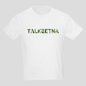 Talkeetna, Vintage Camo, Kids Light T-Shirt