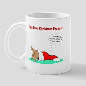 Lab Holiday Promise #2 Mug
