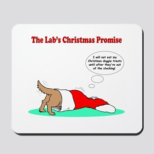 Lab Holiday Promise #2 Mousepad