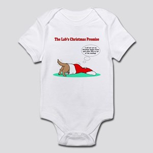 Lab Holiday Promise #2 Infant Bodysuit