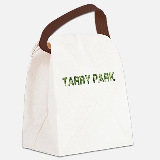 Tarry Park, Vintage Camo, Canvas Lunch Bag
