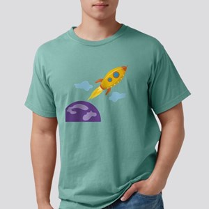 Planet Rocket Mens Comfort Colors Shirt