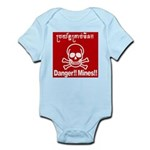Danger!!Mines!! Infant Bodysuit