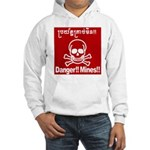 Danger!!Mines!! Hooded Sweatshirt