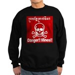 Danger!!Mines!! Sweatshirt (dark)