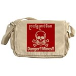 Danger!!Mines!! Messenger Bag