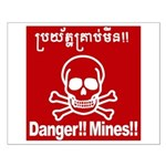 Danger!!Mines!! Small Poster