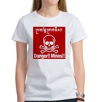 Danger!!Mines!! Women's T-Shirt