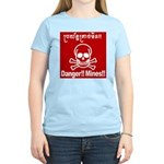 Danger!!Mines!! Women's Light T-Shirt