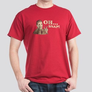 "Retro ""Oh... Snap!"" Dark T-Shirt"
