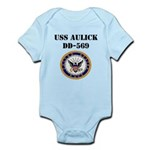 USS AULICK Infant Bodysuit