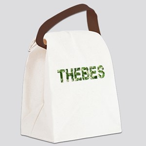 Thebes, Vintage Camo, Canvas Lunch Bag
