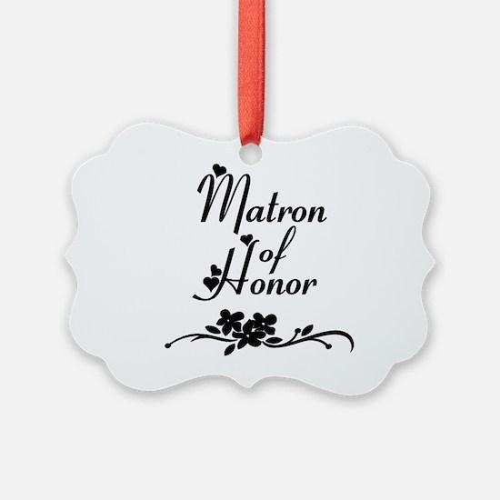 Matron of Honor Ornament