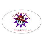 UltraPimplistic Oval Sticker