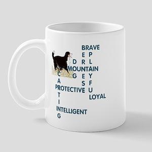 BERNERS CROSSWORD Mug