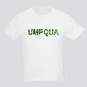 Umpqua, Vintage Camo, Kids Light T-Shirt