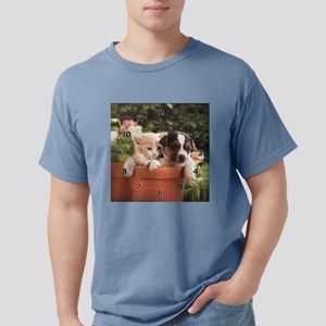kitty and puppy resied.j Mens Comfort Colors Shirt
