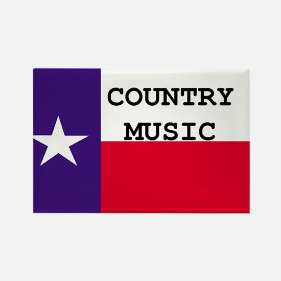 Country Music Rectangle Magnet