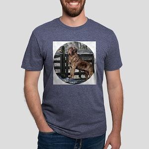 mastiff brindle round Mens Tri-blend T-Shirt
