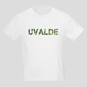Uvalde, Vintage Camo, Kids Light T-Shirt