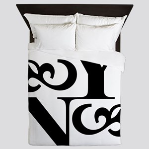 YoungNotions Logo Queen Duvet