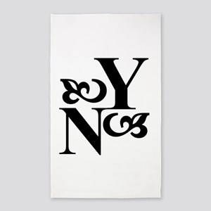 YoungNotions Logo 3'x5' Area Rug