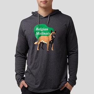 BelgianMalinoisTitle2 Mens Hooded Shirt