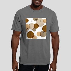 brown spot wallclock Mens Comfort Colors Shirt