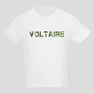 Voltaire, Vintage Camo, Kids Light T-Shirt