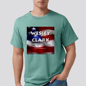 Wesley_Clark_Flag.jpg Mens Comfort Colors Shirt