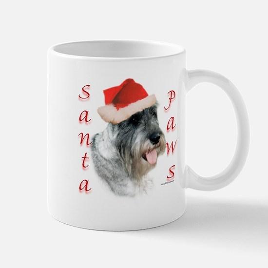 Santa Paws Schnauzer Mug