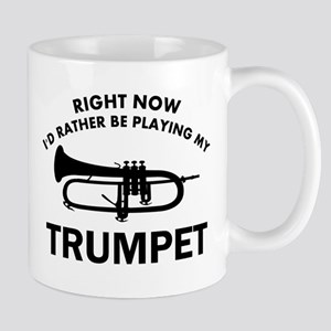 Trumpet silhouette designs Mug