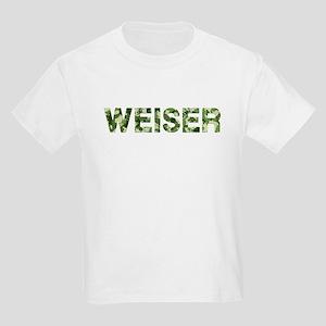 Weiser, Vintage Camo, Kids Light T-Shirt