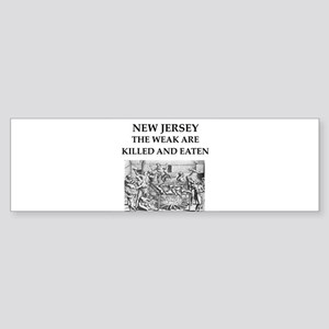 new jersey Sticker (Bumper)