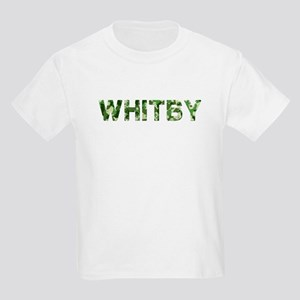 Whitby, Vintage Camo, Kids Light T-Shirt