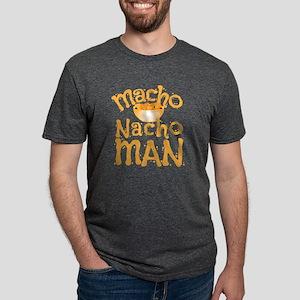 MACHO nacho man Mens Tri-blend T-Shirt