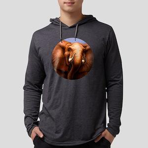 Elephant 3 Mens Hooded Shirt