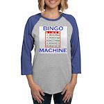 BINGO CARD.jpg Womens Baseball Tee
