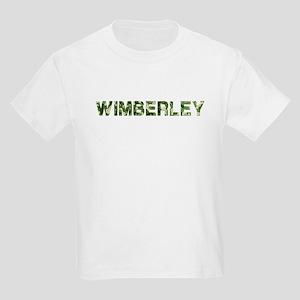 Wimberley, Vintage Camo, Kids Light T-Shirt
