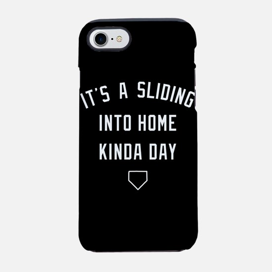 It's A Sliding Into Home Kinda iPhone 7 Tough Case