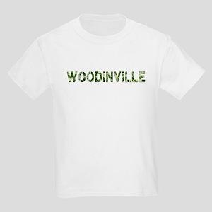 Woodinville, Vintage Camo, Kids Light T-Shirt