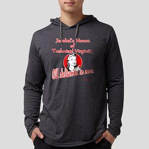 jezebel copy copy Mens Hooded Shirt