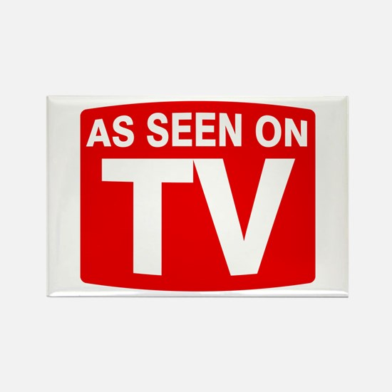 As Seen on TV Rectangle Magnet