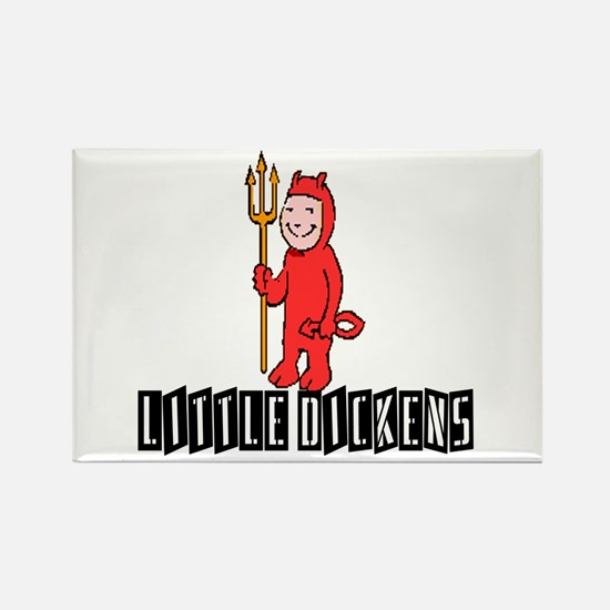 LITTLE DICKENS Rectangle Magnet