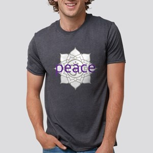 PeaceLotus Mens Tri-blend T-Shirt