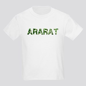 Ararat, Vintage Camo, Kids Light T-Shirt