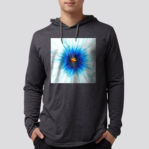 Atomic structure, artwork Mens Hooded Shirt
